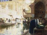Isphan, Persia, c.1900-1901 Giclee Print by Edwin Lord Weeks