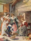 Cinderela Impressão giclée por Frederic Theodore Lix