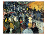 The Arena at Arles Premium Giclee-trykk av Vincent van Gogh