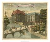 Scenes of the Hague IV Giclée-Druck von G. Van Der Giessen