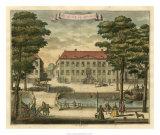 Scenes of the Hague I Giclée-Druck von G. Van Der Giessen