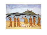 The Seven Umbrellas of Enlightenment Posters por Sam Toft