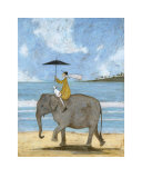 On the Edge of the Sand Print by Sam Toft