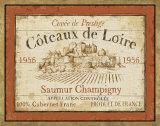 French Wine Labels II Posters par Daphne Brissonnet