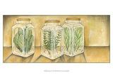 Spice Jars I Poster von Laura Nathan