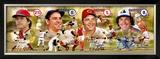 Hall of Fame- Catchers Impressão fotográfica emoldurada