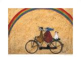 Somewhere under a Rainbow Kunst von Sam Toft
