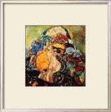 Baby Impressão giclée emoldurada por Gustav Klimt