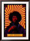 Jimi Hendrix - Psychedelic Posters