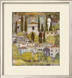 Church at Cassone sul Garda Poster by Gustav Klimt