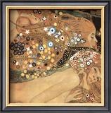 Serpentes d'Água II, c.1907 (detalhe) Pôsters por Gustav Klimt