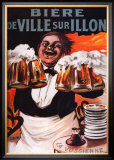 Biere De Ville Sur Illon Posters por Francisco Tamagno