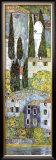 Chiesa a Cassone (detail) Art by Gustav Klimt