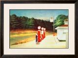 Gas 1940 Prints by Edward Hopper