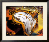 Soft Watch at the Moment of First Explosion, c.1954 Posters by Salvador Dalí