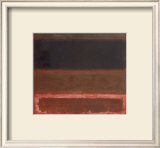 Four Darks in Red, 1958 Poster by Mark Rothko