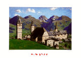 Kitzbuehel in the Summertime Posters av Alfons Walde