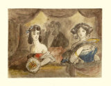 Box in Theatre Collectable Print by Constantin Guys