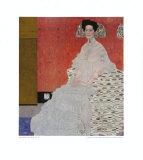Portrait of Fritza Riedler Lámina coleccionable por Gustav Klimt