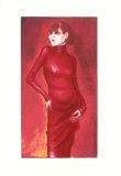 Portrait of the dancer Anita Berber, c.1925 コレクターズプリント : オットー・ディックス