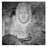 Bach Poster by Jean-François Dupuis