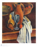 Still Life (Stone Jug, White Serviette and Fruit) Samlarprint av Andre Derain