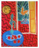 Red Interieur, Still Life on a Blue Table, c.1947 Láminas por Henri Matisse