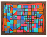 Glass Cladding, c.1940 Prints by Paul Klee