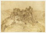 Aggstein Castle Impressão colecionável por Yves Klein