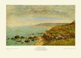 The Seine Bay near Bénerville Posters par Eugène Boudin