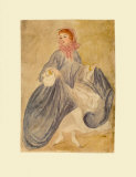 The Dancer Collectable Print by Constantin Guys