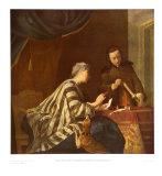 The Sealmaker Posters af Jean-Baptiste Simeon Chardin