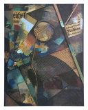 Merz-Pict. 25A: Das Sternenbild, c.1920 Plakat af Kurt Schwitters