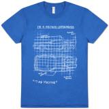 Back to the Future - Schematic Camiseta