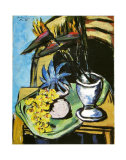 Still Life with Flowers Posters av Max Beckmann