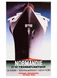 Normandie Giclee-trykk av Adolphe Mouron Cassandre