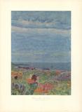 Le Cannet Near Nice Lámina coleccionable por Pierre Bonnard