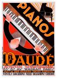 ドーデのピアノ2 ジクレープリント : アンドレ・ダウム