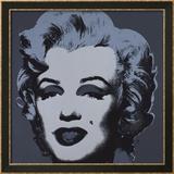 Marilyn, c.1967 (Black) Art par Andy Warhol