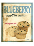Blueberry Muffin Mix Art par Norman Wyatt Jr.