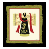 Kimono I Prints by Nancy Slocum