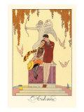 L'Automne Prints by Georges Barbier