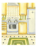 Retro Kitchen II Print by Chariklia Zarris