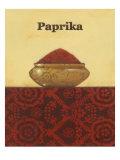 Exotic Spices - Paprika Affiches par Norman Wyatt Jr.