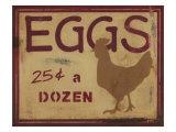 Kananmunat Julisteet tekijänä Norman Wyatt Jr.