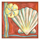 Pop Shells I Metal Print by Nancy Slocum