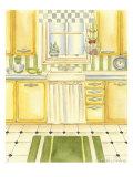 Retro Kitchen I Poster by Chariklia Zarris