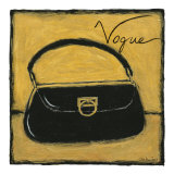 Vogue on Gold Stampe di Chariklia Zarris
