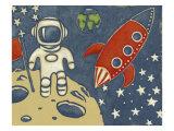 Space Explorer I Art by Chariklia Zarris