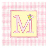 Girl Letter M Posters by  Vision Studio